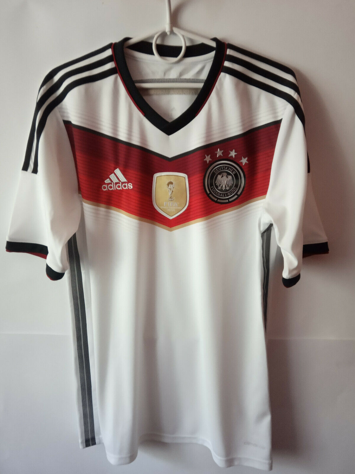 EXCELLENT    2014-15 Germany Home Shirt Trikot Jersey S