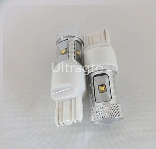 2X High Power 30W T20 7440 Cree Q5 Optical LED Bulb BRAKE TAIL LIGHT BULB LAMP