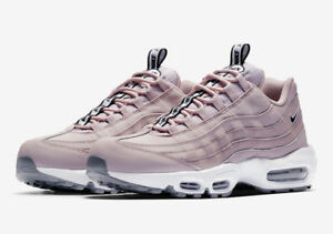 148bb7f5d2 Nike Air Max 95 SE Casual Shoes Particle Rose Black White AQ4129-600 ...