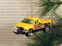 Maintenance Service 1995 Dodge Ram 1500 '95 Yellow Christmas Ornament Xmas