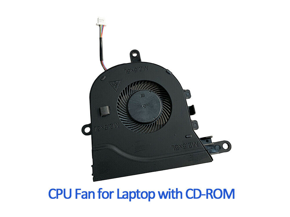 0FX0M0 CPU Cooling Fan For Dell Inspiron 15-3593 15-5570 P75F Series
