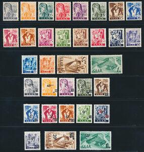 SAARLAND-1947-MiNr-206-238-206-38-tadellos-postfrisch