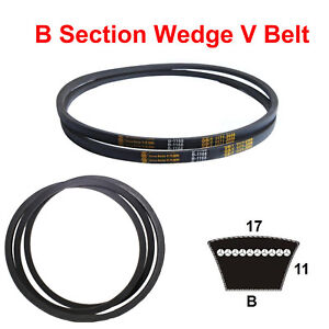 B-Section-V-Belt-Universal-Drive-belt-Sizes-B24-B119-For-Industrial-Lawn-Mower