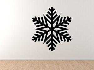 Snowflake-Pattern-3-Winter-Art-Christmas-Decoration-Vinyl-Wall-Decal-Decor