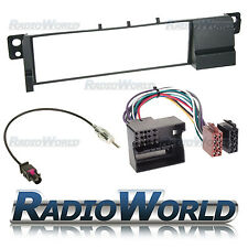 BMW 3 Series E46 Radio Fascia Panel Adapter Surround Plate Flat Pin Fitting KIT