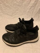 11ee6b536 Adidas Pureboost ZG Running Shoes Triple Black Men s 11 BA8458 White Boost