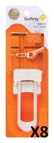 8 pk Safety 1st Cabinet Slide Locks