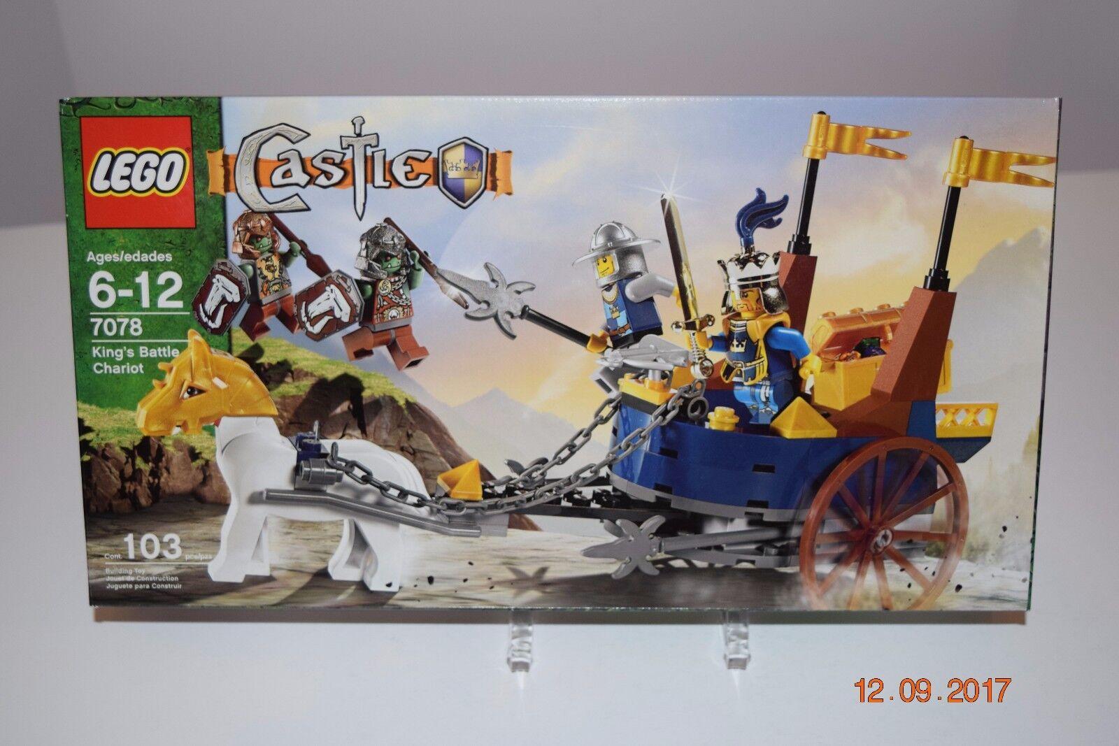 Lego 7078__King's Battle Chariot_Age 5+_103 PCS_Sealed__Retirosso_Rev PICs_NEW_NIB