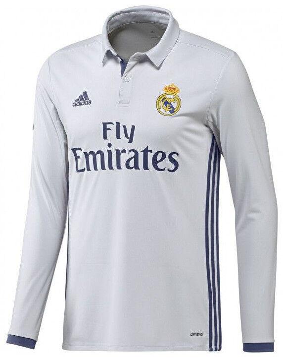 Adidas Real Madrid Manga Larga Home Jersey 2016