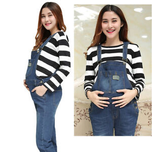 fdcb70f16bc Image is loading Slim-Dungarees-Jumpsuits-Jeans-Denim-Trousers-Pants-Skinny-
