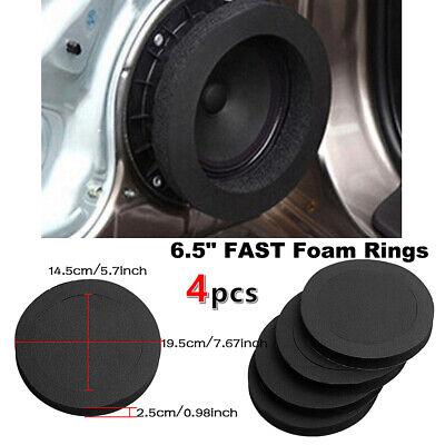 "8PCS Black 8.8""FAST Foam Rings Car Speaker Enhancer System Kit Universal  CARMSKY  eBay"