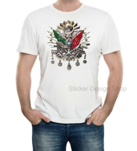 Osmanli armasi t-shirt pression Coton Fruit of the Loom türkiy Istanbul tugra