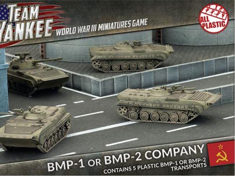 Flames Of War - Équipe Yankee Guerre Mondiale III Jeu - Bmp-1 ou Bmp-2 Compagnie