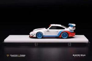 Porsche 911(993) RWB Coupe Martini Livery, Scale 1:64 by Timothy & Pierre
