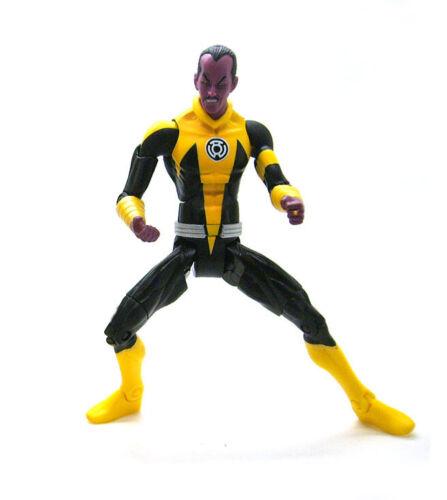 "DC Universe Classics 6/"" Yellow Lantern Sinestro Corps Loose Action Figure"