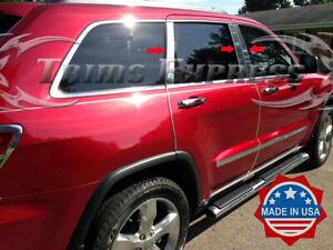 fits-2011-2019-Jeep-Grand-Cherokee-WK2-6Pc-Pillar-Post-Stainless-Steel-Trim