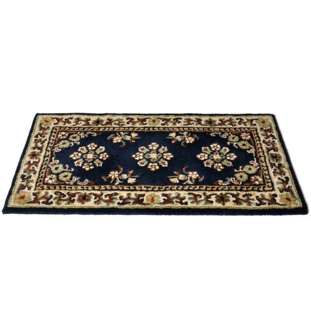 44 X22 Oriental Rectangle Wool Fire Resistant Fireplace Hearth Rug Carpet