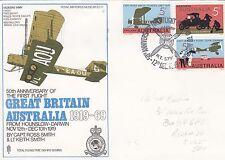 SC11eCA  Flown Darwin to Melbourne With 3 x 5c Australian Stamps.