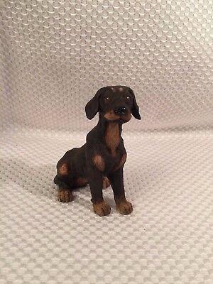 LAB LABRADOR RETRIEVER CHOCOLATE TINY ONES DOG Figurine Statue Resin Pet Lovers
