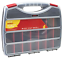 NEW Large 380mm Multi Adjustable Compartment Section Storage Box Organiser