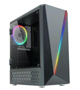 CiT-C1055-Mid-Tower-Gaming-Case-Black-USB-3-0