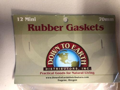 910772 Le Parfait Super Replacement Rubber Gasket Seals 70mm 908514