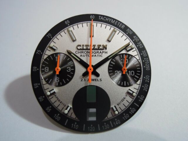 NEW REPLACEMENT CITIZEN DIAL & HANDS FIT 8110 CHRONOGRAPH