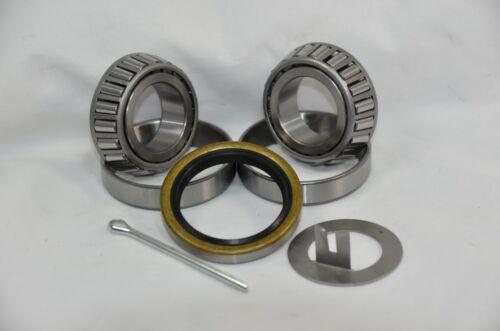 2,000 lb.Trailer Bearing Kit L44649/10 L44649/10 Bearings 12192TB 1.25 Seal
