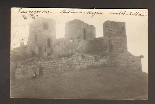 Goût élégant et choix distingué. CHATEAU DE MAGRIN (81) carte-photo carte-photo carte-photo animée en 1903 f90f9a