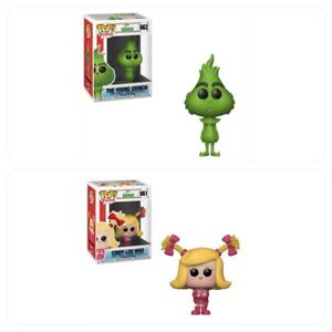 NEW OFFICIAL FUNKO POP THE GRINCH CINDY LOU WHO #661 VINYL FIGURE