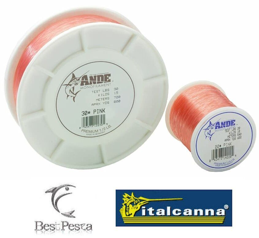 ANDE PREMIUM ROSA - Ø 0.60 - 40lbs - 630mt