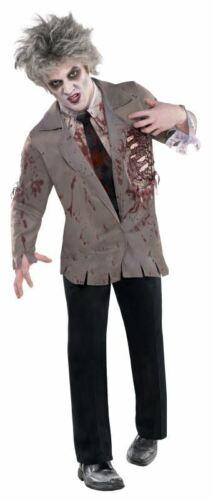 Adult Walking Dead Zombie Jacket Mens Halloween Horror Fancy Dress Accessory
