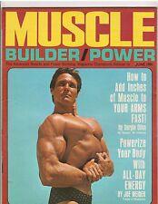 Muscle Builder Bodybuilding Magazine/TV's Laredo Bill Smith/Sergio Oliva 6-68
