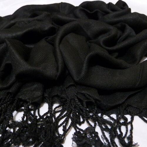 pas Filles École Pashmina Musulmane 100/% Coton Uni Wrap Châle Stole Head Scarf