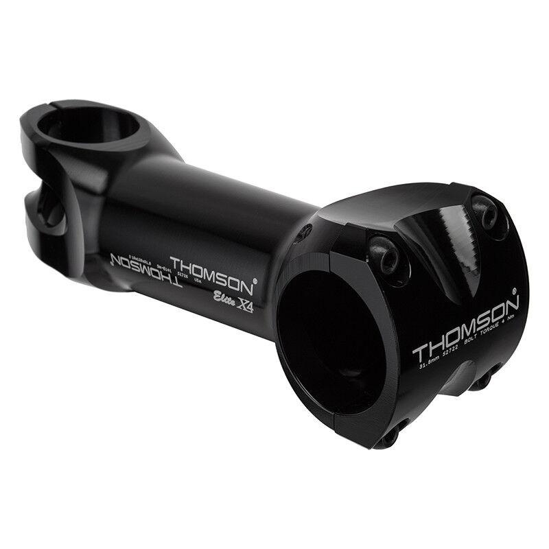 Vástago de tallo Thomson X4 MTB Thom X4 120x10d BK 31.8