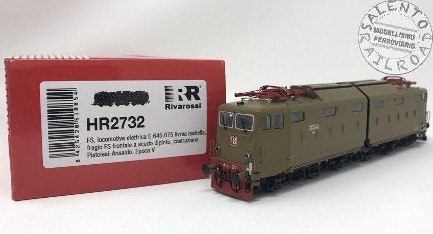 HR2732 Rivarossi locomotive électrique FS E645.075 livrée Isabella ep. V