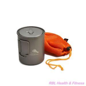 TOAKS-Titanium-750ml-Pot-POT-750-Outdoor-Camping-Cup-Bowl-Pot