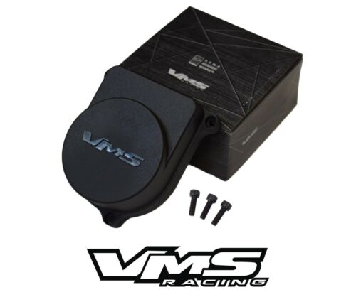 VMS Racing Coil On Plug Adapter Plate Blue and B16 B18 Distributor Cap Black