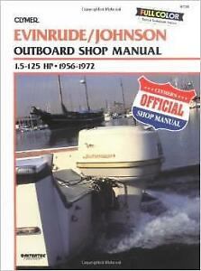 Details about EVINRUDE JOHNSON OUTBOARD MOTOR 7 5 9 5 10 15 18 20 25 HP  ENGINE Service Manual