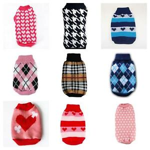 Cute-Knitted-Dog-Jumper-Pet-Clothes-Sweater-For-Small-To-Medium-Dogs-14-Styles