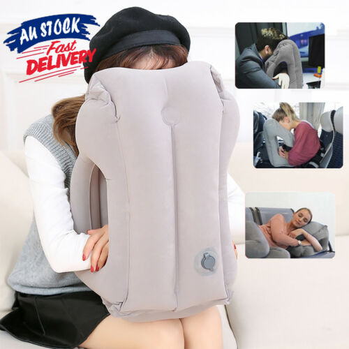 Comfortable Inflatable Cushion Neck flight Support Nap Air Travel ow