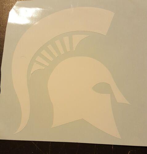 MSU spartan Michigan State 4 x 4 vinyl decal great college student gift