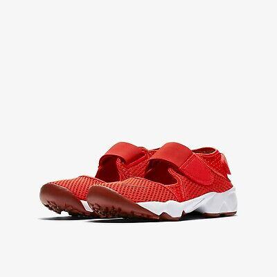 Vadear Fraseología Villano  Nike Air Rift GS/PS Boys/Girls/Women's Trainers Shoes 322359 600 Red | eBay
