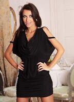Ladies Womens Wedding Cocktail Party Evening Mini Maxi Dress 8 10 12 14 16 18