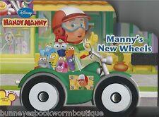 MANNYS NEW WHEELS Handy Manny NEW Toddler BOARD Book DISNEY English SPANISH Word