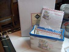 My Little Kitchen Fairies MY FAVORITE RECEIPES BOX  Retired