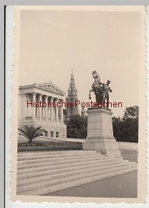 (f7350) Orig. Photo Vienne, Mairie, Lot 1940-afficher Le Titre D'origine