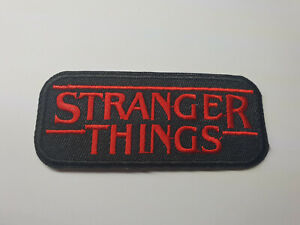STRANGER-THINGS-LOGO-iron-on-or-sew-on-Patch-tv-show-netflix