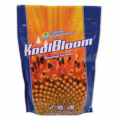 General Hydroponics KoolBloom Ripening Formula, 2.2 pounds Bloom Nutrients