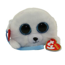 2c6222fb02c 2018 Ty Gear Beanie Boos Icy The Seal Wristlet coin Purse in Hand ...